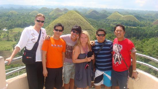 Bohol Divers Resort: the chocolate hills