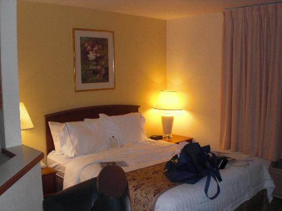 Towneplace Suites Detroit Livonia: Comfortable Bed