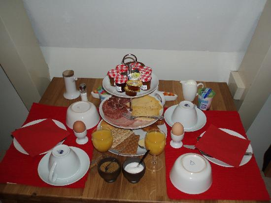CityCenter Bed and Breakfast Amsterdam: Desayuno