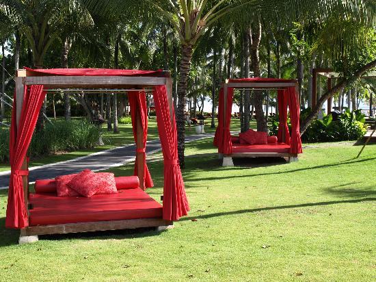 Club Med Bali: le jardin