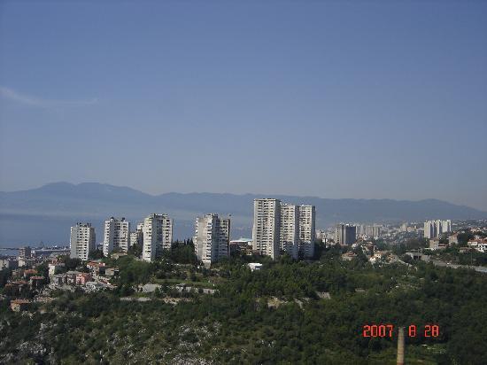 Rijeka, Croatia: View from Trsat 1