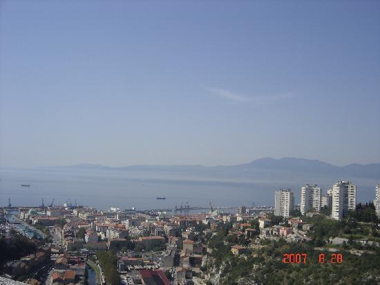 Риека, Хорватия: View from Trsat 2