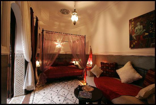 Riad le Clos des Arts: la chambre où nous étions