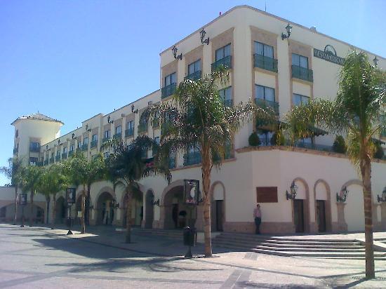 Fiesta Americana Aguascalientes: Hotel vista posterior
