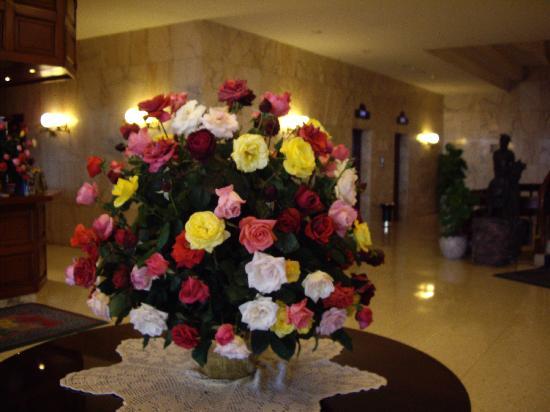Hotel El Tope: Hotel reception