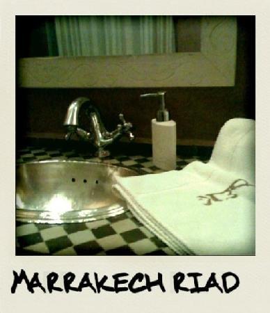 Riad Dar El Kheir : salle de bain