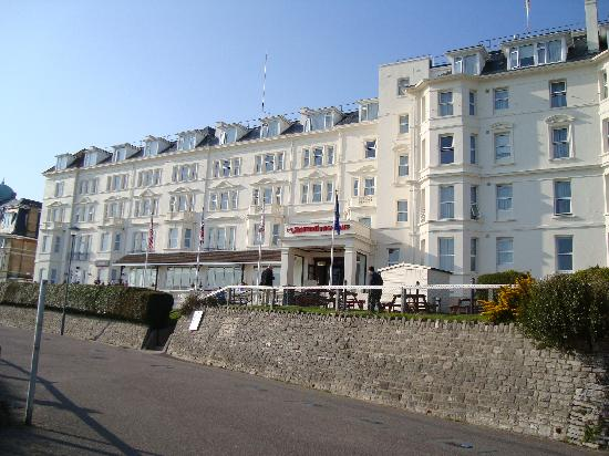 Hotel Front From Cliff Promenade Picture Of Bournemouth
