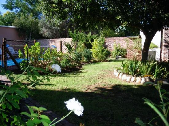 Celtic Bushman B&B: green areas, relaxing back yard