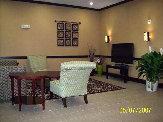 Best Western Plus Texoma Hotel & Suites: Sitting Area