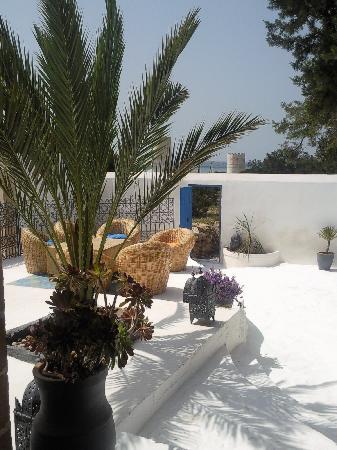 Hotel Villa Soleil : front terrace