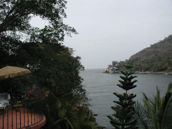 Casa de los Artistas: My View away from Beach toward Ocean