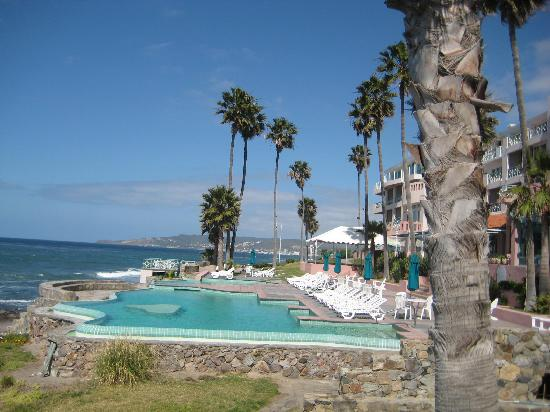 Las Rosas Hotel & Spa: Taken from the hot tub