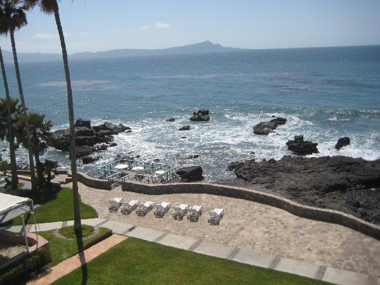 Las Rosas Hotel & Spa: Part of the view from our balcony