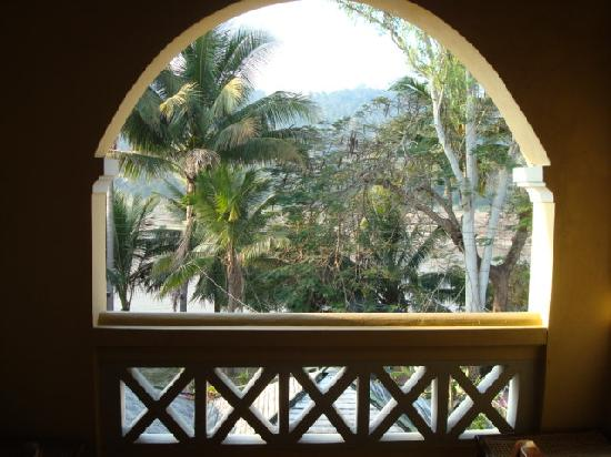 Calao Hotel : Balcony from room