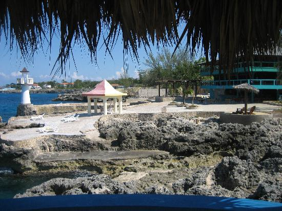 Negril Escape Resort & Spa: View from the India-themes rooms