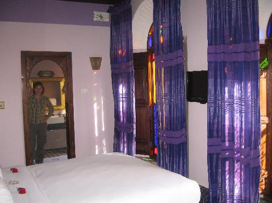Riad Le Calife: Our beautiful room