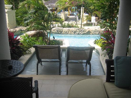 Sandals Royal Caribbean Resort and Private Island : swim up river