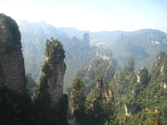Wulingyuan Scenic and Historic Interest Area of Zhangjiajie: More views from up top