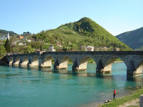 Visegrad, Bosnia and Herzegovina: Bridge over Drina