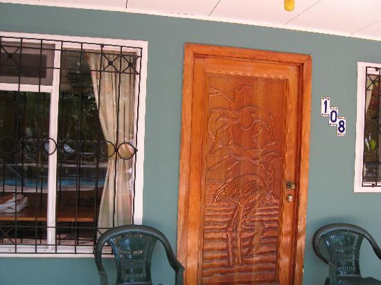 Hotel Verde Mar: Door of room 108
