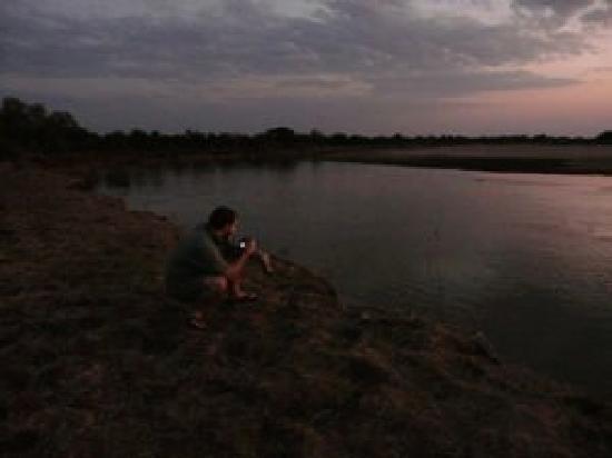 Tena Tena Camp: Sundown