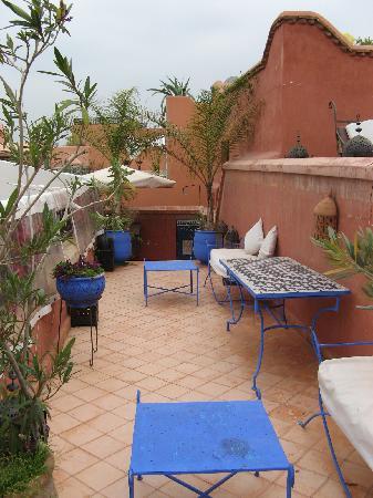 Riad Dar El Aila : Terrasse