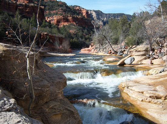 Sedona, AZ: Slide Rock Falls