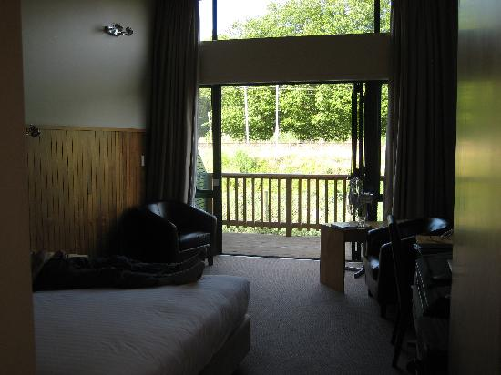 Waitomo Lodge: Room with a view