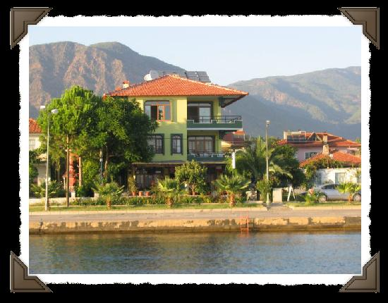 Koycegiz, Turchia: a shot of hotel flora on lake shore