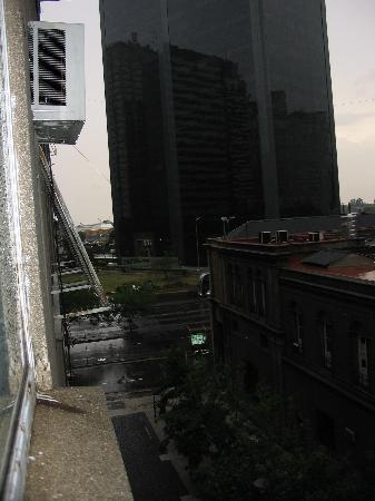Hotel Tres Sargentos: Vista de Puerto madero,  desde la habitación