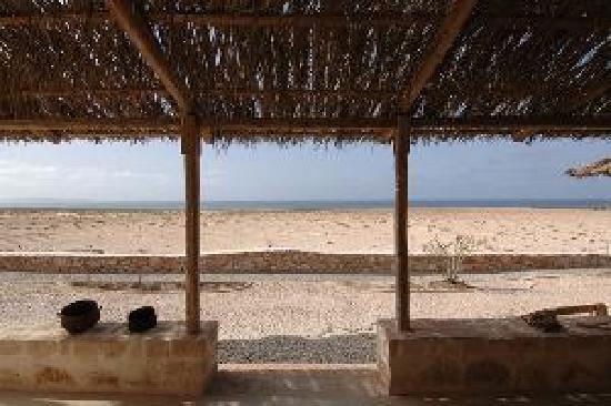 Hotel Spinguera Ecolodge: ogni giorno...mentre si fa colazione questo è la vista.