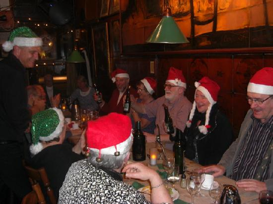 Skindbuksen: Belated or very early Christmas celebration