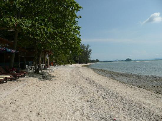 Grand Sea View Hotel: Beach front