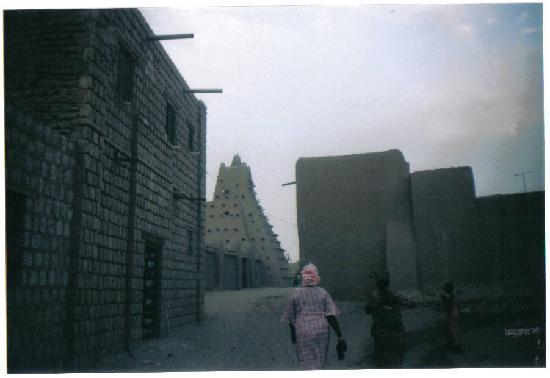 Dijinguere Ber Mosque Timbuktu