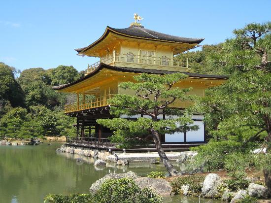 Rokuon-ji Temple: beautiful kinkakuji