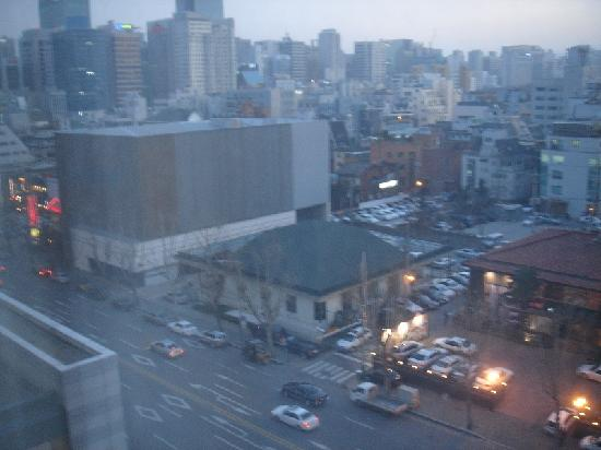 InterContinental Seoul COEX: View outside my Window