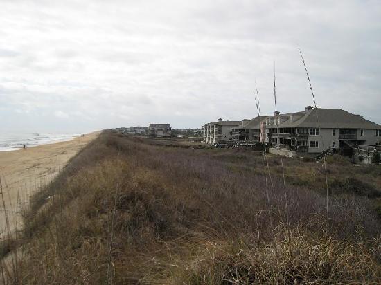 Sanderling Resort: View of Resort and Sand Dune