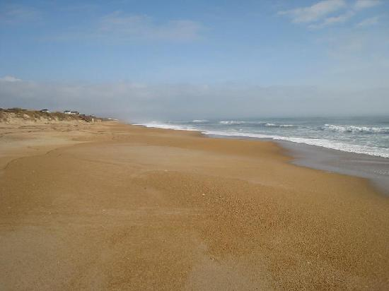 Sanderling Resort: A typical view of the beach (off-season)