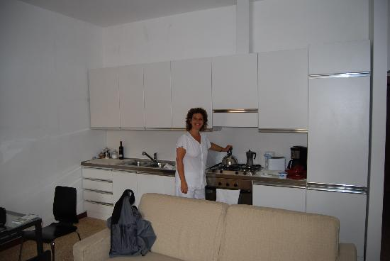 Residence Ca' Foscolo: La cocina