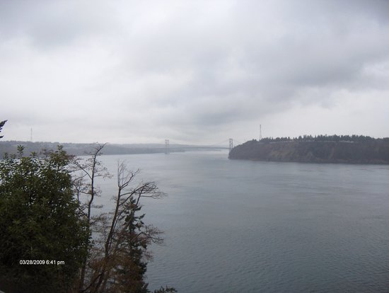 Point Defiance Park : Tacoma Narrows Bridge