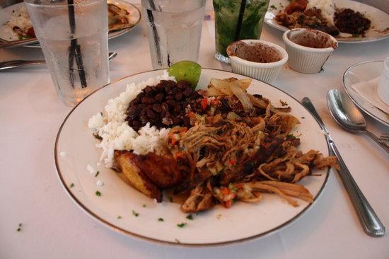 Mario's Catalina Restaurant : Roast Pork plate