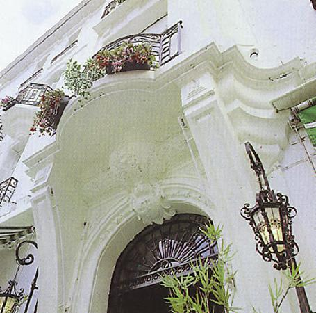 Hotel Majestic : la facade