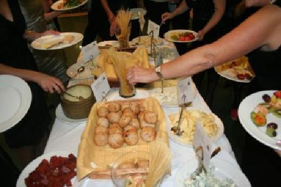 Norena, Spain: Buffet de quesos