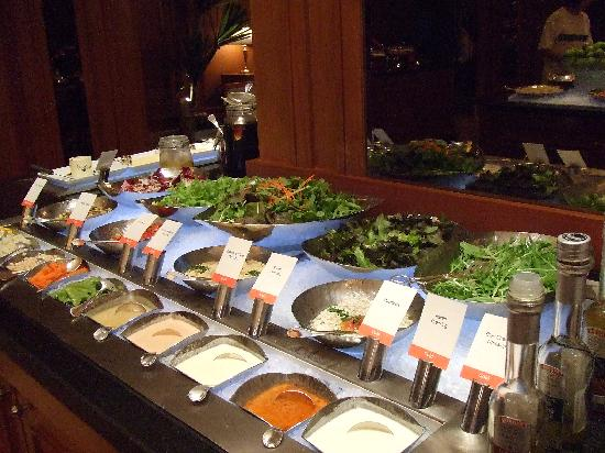 Salad buffet - Picture of Marriott Cafe - at the JW