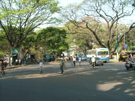 Ramanashree Brunton Road: walking the streets