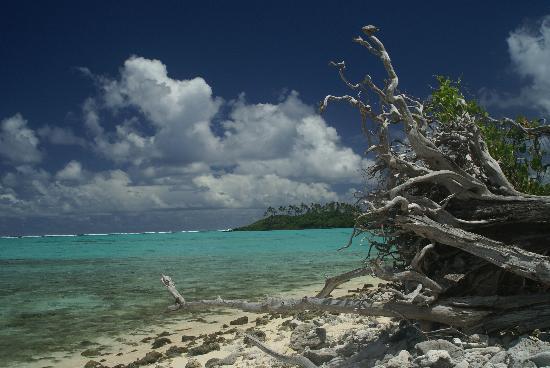 Pacific Resort Rarotonga: One of the islands in Muri Lagoon
