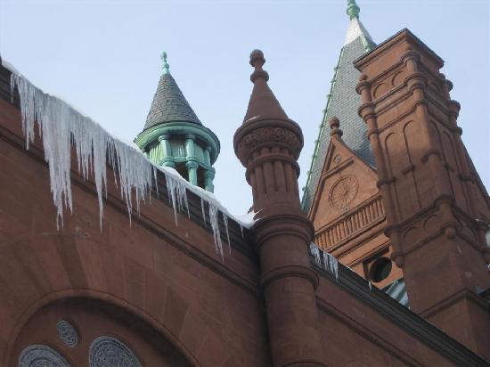 Syracuse, نيويورك: church