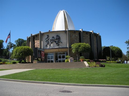 Pro Football Hall of Fame: from outside