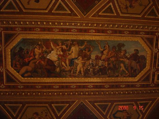 Budapest Operetta Theatre: Picture from the ceiling