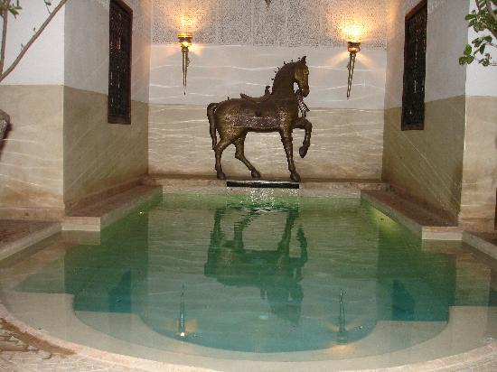 Riad Assakina: The lovely pool